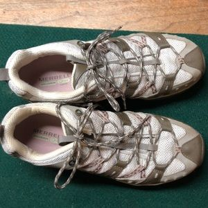 Merrell Shoes - Merrell Air Cusion QForm Hiking Shoes Size 10